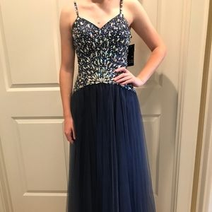 Sean Collection beaded gown